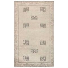 Doris Leslie Blau Collection Ivan Da Silva-Bruhns Style Art Deco Wool Rug