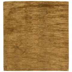 Doris Leslie Blau Collection M Group Design Rug in Warm Brown
