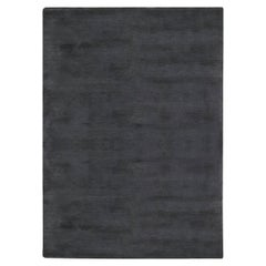 Doris Leslie Blau Collection Modern Black Mohair Rug