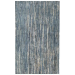 Doris Leslie Blau Collection Modern Blue Handmade Wool Rug