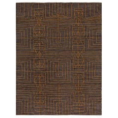 Doris Leslie Blau Collection Modern Geometric Wool Rug by Kim Alexandriuk