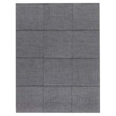 Doris Leslie Blau Collection Modern Nuno Felt Gray Rug