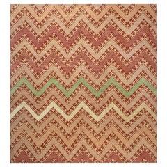 Doris Leslie Blau Collection Modern Tribal Geometric Wool Rug