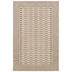 Doris Leslie Blau Collection Needle Point Handmade Wool Rug by Arthur Dunnam