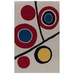 Doris Leslie Blau Collection New Inspired Art Deco Hand Knotted Wool Rug