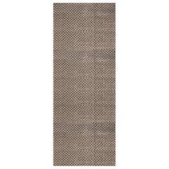 Doris Leslie Blau Collection Oversized Geometric Terra Rug in Natural Wool