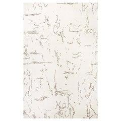 Doris Leslie Blau Collection Oversized Indefinite White and Black Rug