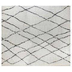 Doris Leslie Blau Collection Oversized Tribal Style Modern Moroccan Rug