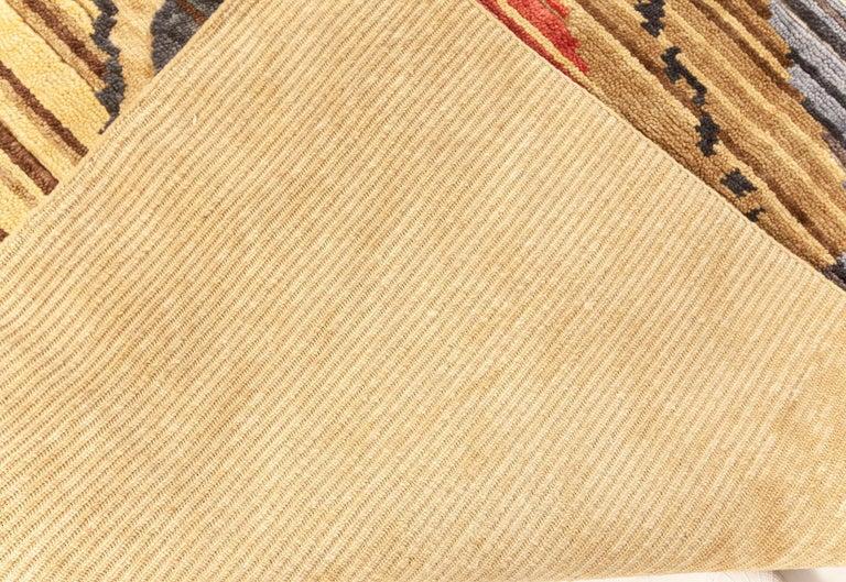 Doris Leslie Blau Collection Sauron Textural Rug For Sale 2