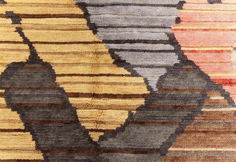 Doris Leslie Blau collection sauron textural rug Size: 15'2