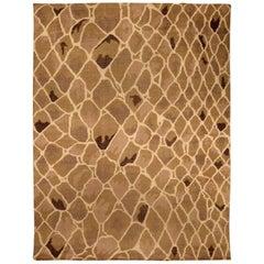 Doris Leslie Blau Collection Snake Design Handmade Wool Rug