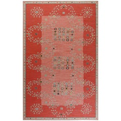 Doris Leslie Blau Collection Swedish Design Flat-Weave Rug