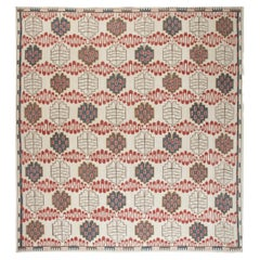 Doris Leslie Blau Collection Swedish Design Hazel Geometric Handwoven Wool Rug
