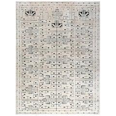 Doris Leslie Blau Collection Swedish Design Skvattram Half Pile Geometric Rug