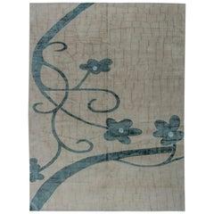 Doris Leslie Blau Collection Tibetan Handmade Silk and Wool Rug