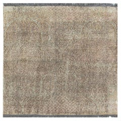 Doris Leslie Blau Collection Traditional Inspired Blue Pink Purple Knotted Rug