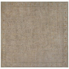 Doris Leslie Blau Collection Traditional Inspired Rug in Gold and Green