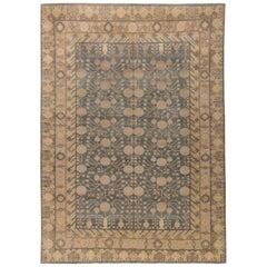 Doris Leslie Blau Collection Traditional Oriental Inspired Botanic Wool Rug