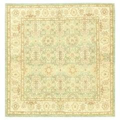 Doris Leslie Blau Collection Traditional Oriental Inspired Brown, Aquamarine Rug