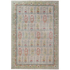 Doris Leslie Blau Collection Traditional Oushak Design Rug