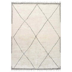 Doris Leslie Blau Collection Tribal Style Modern Moroccan Wool Area Rug