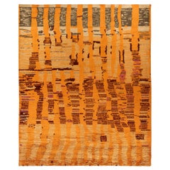 Doris Leslie Blau Collection Tribal Style Moroccan Rug in Dusk Colors