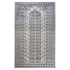 Doris Leslie Blau Swedish Geometric Style Half Pile Rug