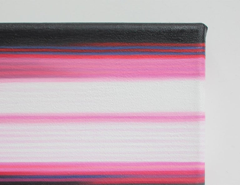 Pink Painting (Landscape No.7) by Doris Marten - Abstract painting, contemporary For Sale 2