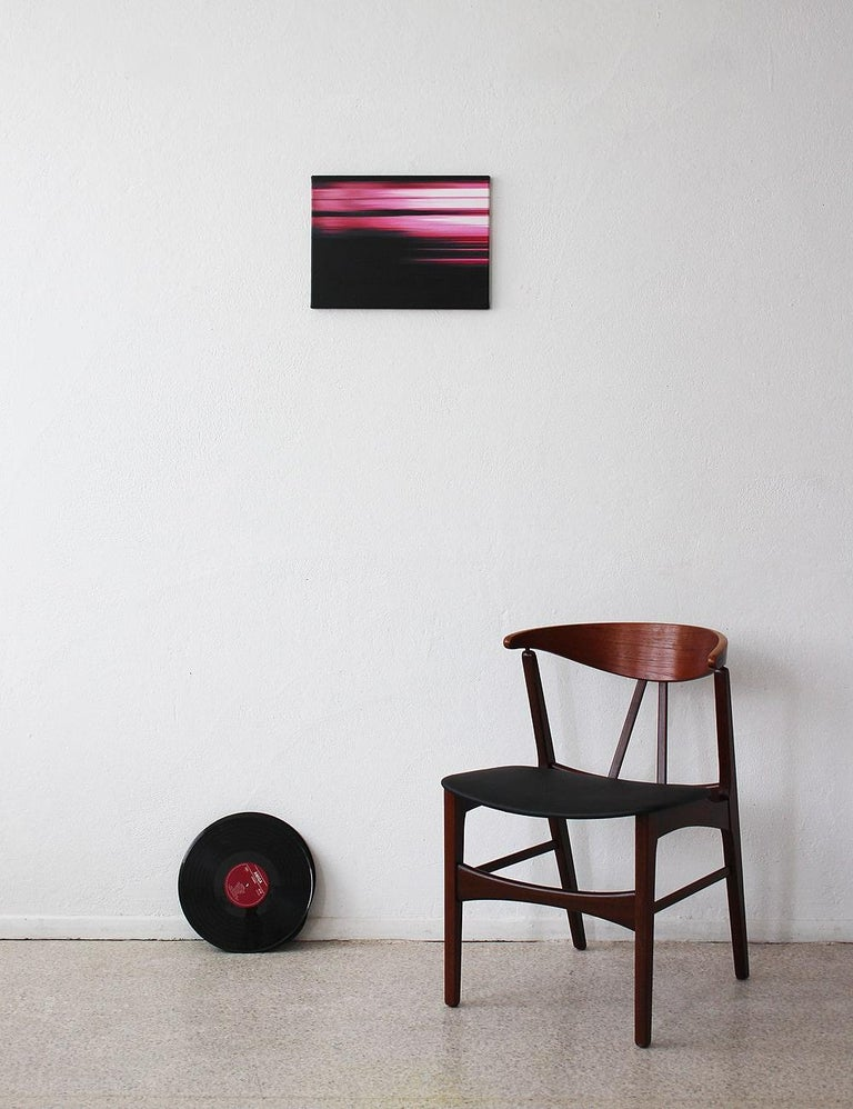 Pink Painting (Landscape No.7) by Doris Marten - Abstract painting, contemporary For Sale 3
