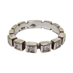 Doris Panos 18k White Gold Diamond Ring