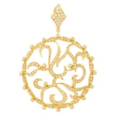 Doris Panos Diamond Pendant