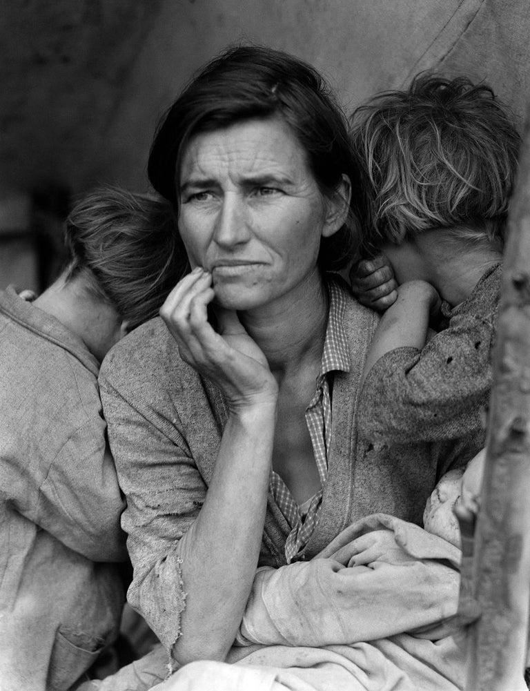 Dorothea Lange Migrant Mother 1936 Silver Gelatin print  - Photograph by Dorothea Lange