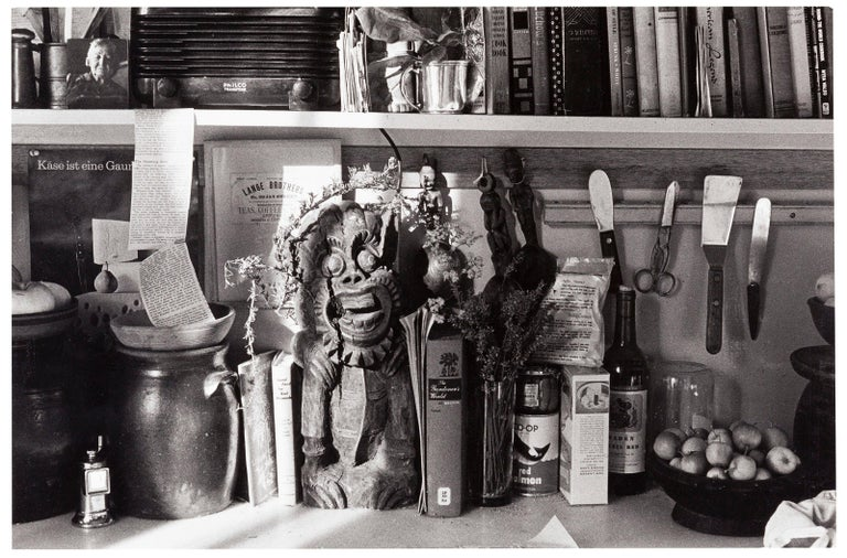 Dorothea Lange Black and White Photograph - Still Life With Books And Utensils, 1961