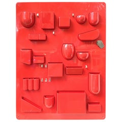 Dorothea Mauer-Becker Wall-All Wall in Red