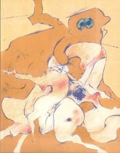 Untitled - Original Lithograph by Dorothea Tanning - 1974