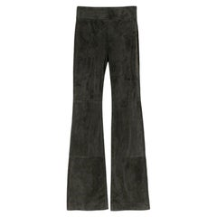 Dorothee Schumacher Aesthtic Attempt Suede Flared Pants - Size US 2