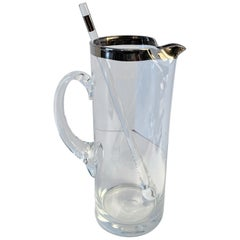 Dorothy Thorpe Cocktail  Pitcher with Stirrer