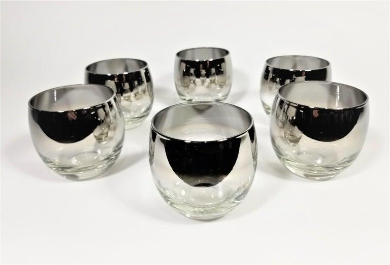 Dorothy Thorpe Glassware Barware Midcentury 1960s Set of 6 For Sale 5