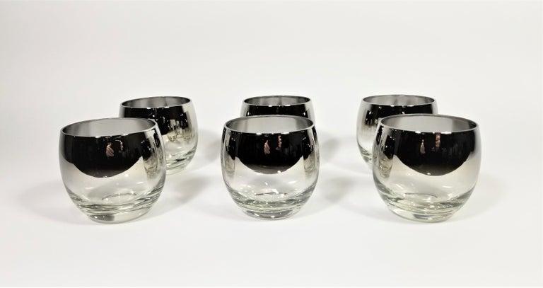 Dorothy Thorpe Glassware Barware Midcentury 1960s Set of 6 For Sale 6