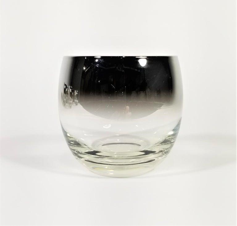 20th Century Dorothy Thorpe Glassware Barware Midcentury 1960s Set of 6 For Sale