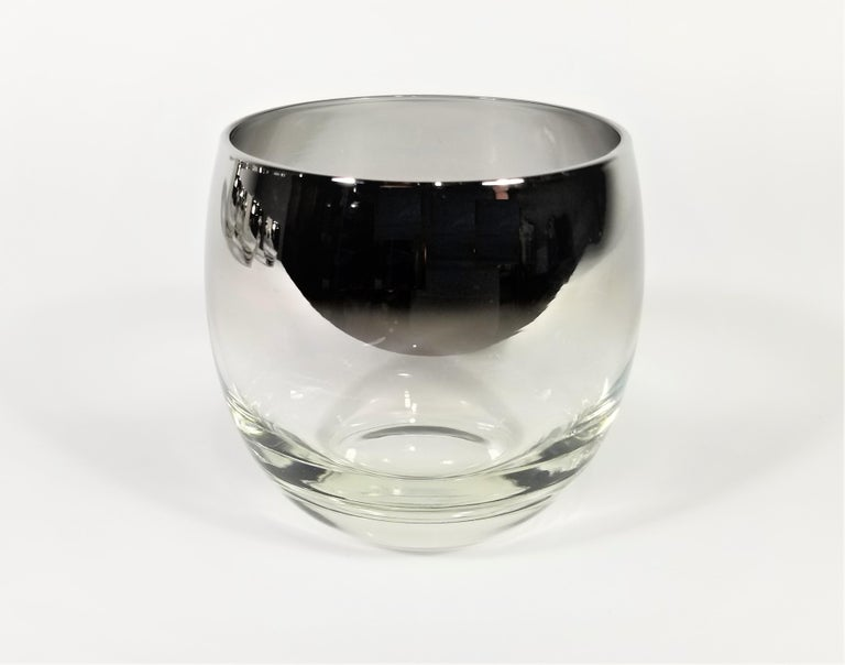 Dorothy Thorpe Glassware Barware Midcentury 1960s Set of 6 For Sale 1