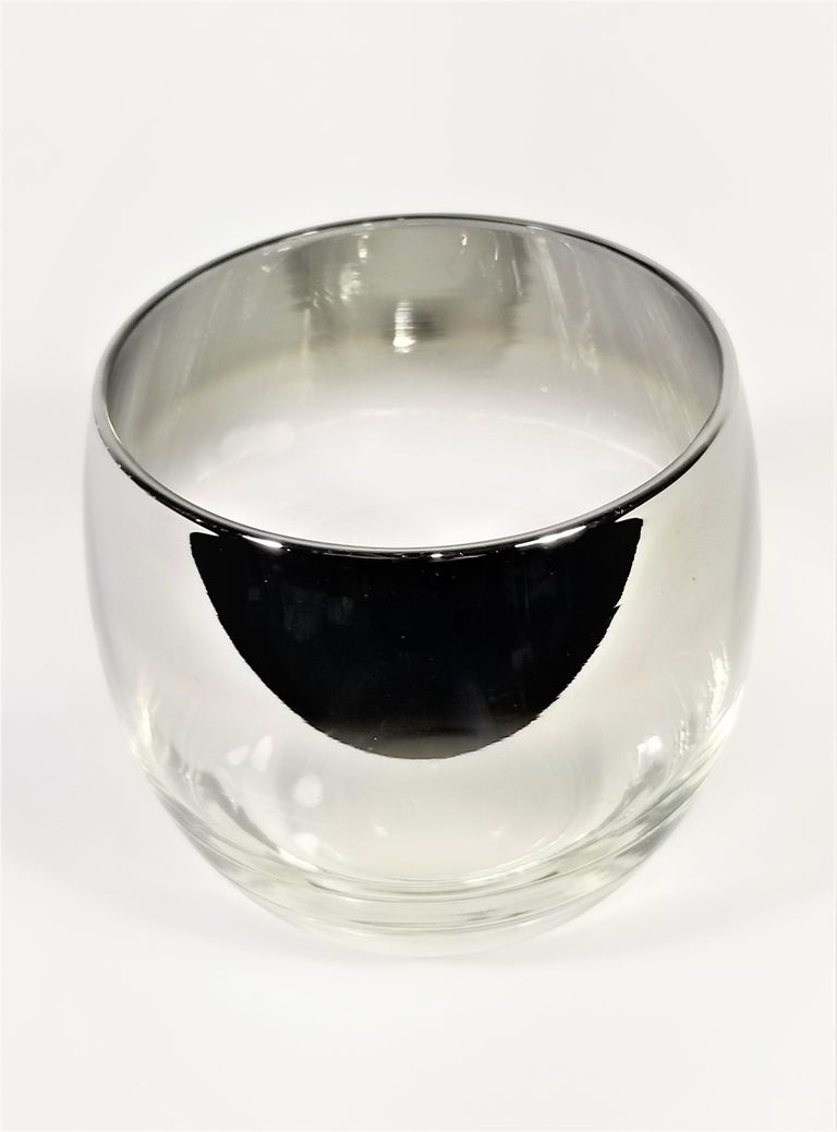 Dorothy Thorpe Glassware Barware Midcentury 1960s Set of 6 For Sale 2