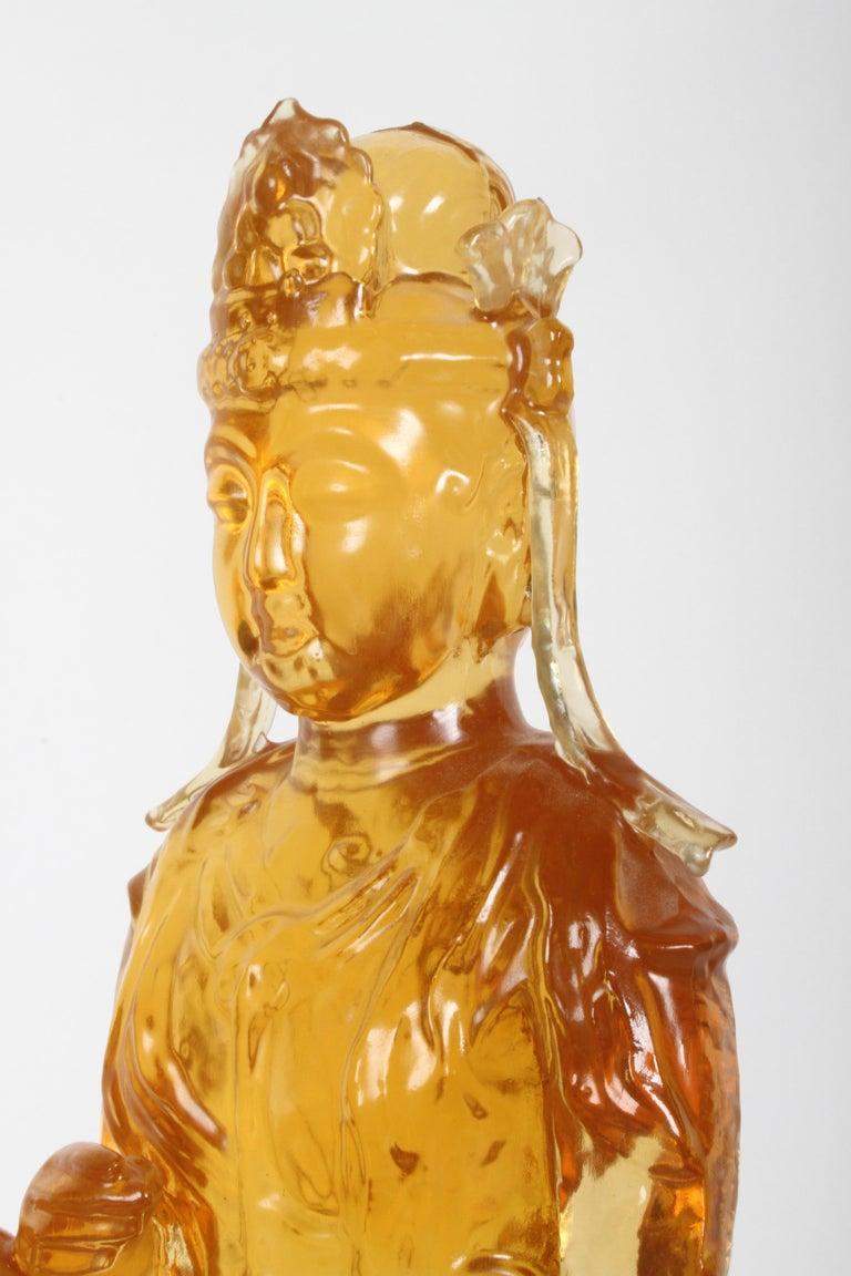 1960s Dorothy Thorpe Resin Buddha For Sale