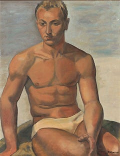 Portrait of a Male Nude
