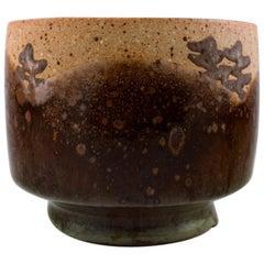 Dorthe Møller, Own Workshop, Ceramic Vase in Rustic Style