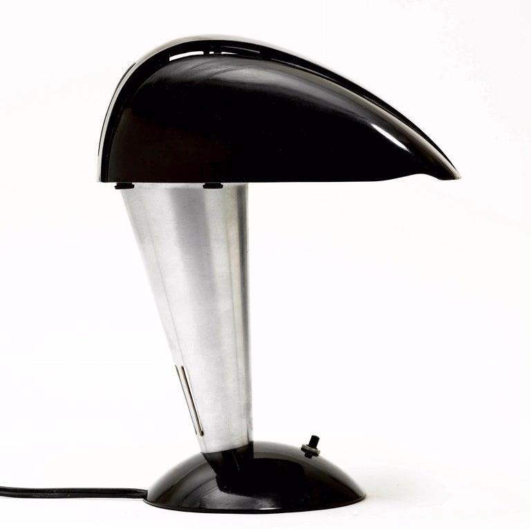 Art Deco Dorwin Teague & Giudice, Rare Polaroid Modern Desk Lamp For Sale