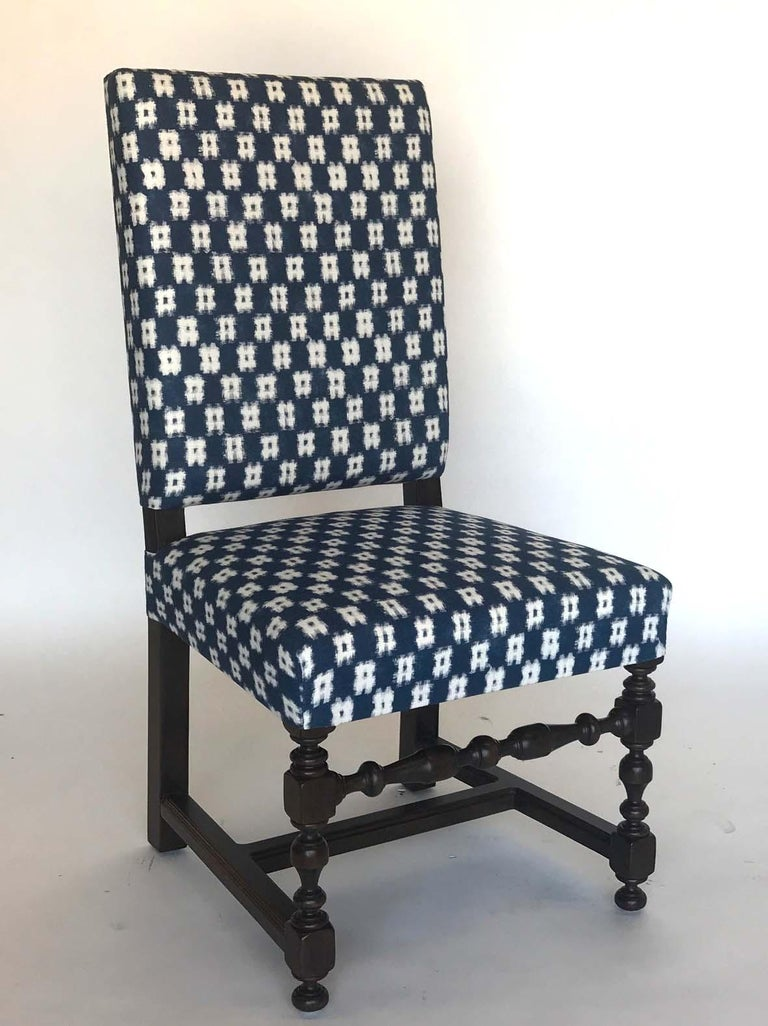 Dos Gallos Custom Upholstered Dining Or Desk Chair For