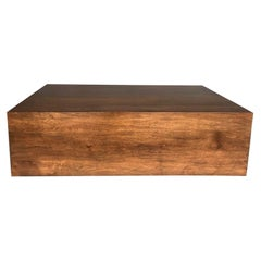 Dos Gallos Studio Custom Walnut Modern Coffee Table