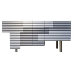 "Doshi Levien Shanty Contemporary Cabinet Model B ""winter"" for BD Barcelona"