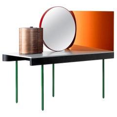 Doshi Lieven Dressing Table 'Chandlo' Ash / Steel / Mirror / by BD Barcelona